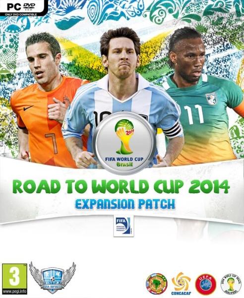 Capa FIFA - Rumo a Copa do Mundo 2014